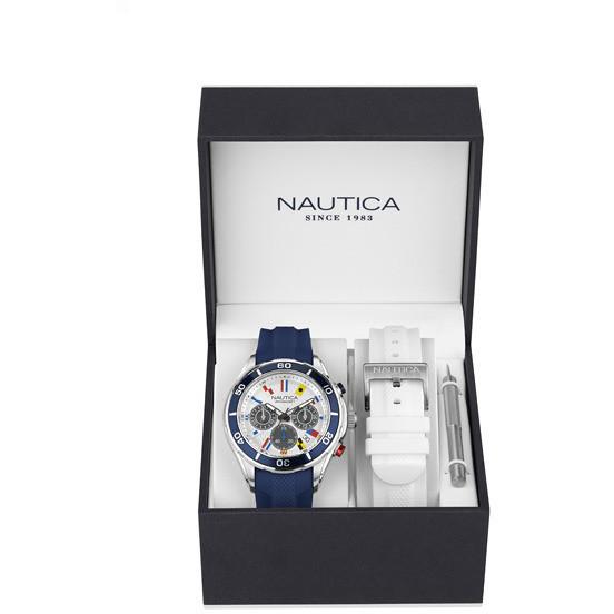 codice promozionale ffc65 77326 orologio cronografo uomo Nautica