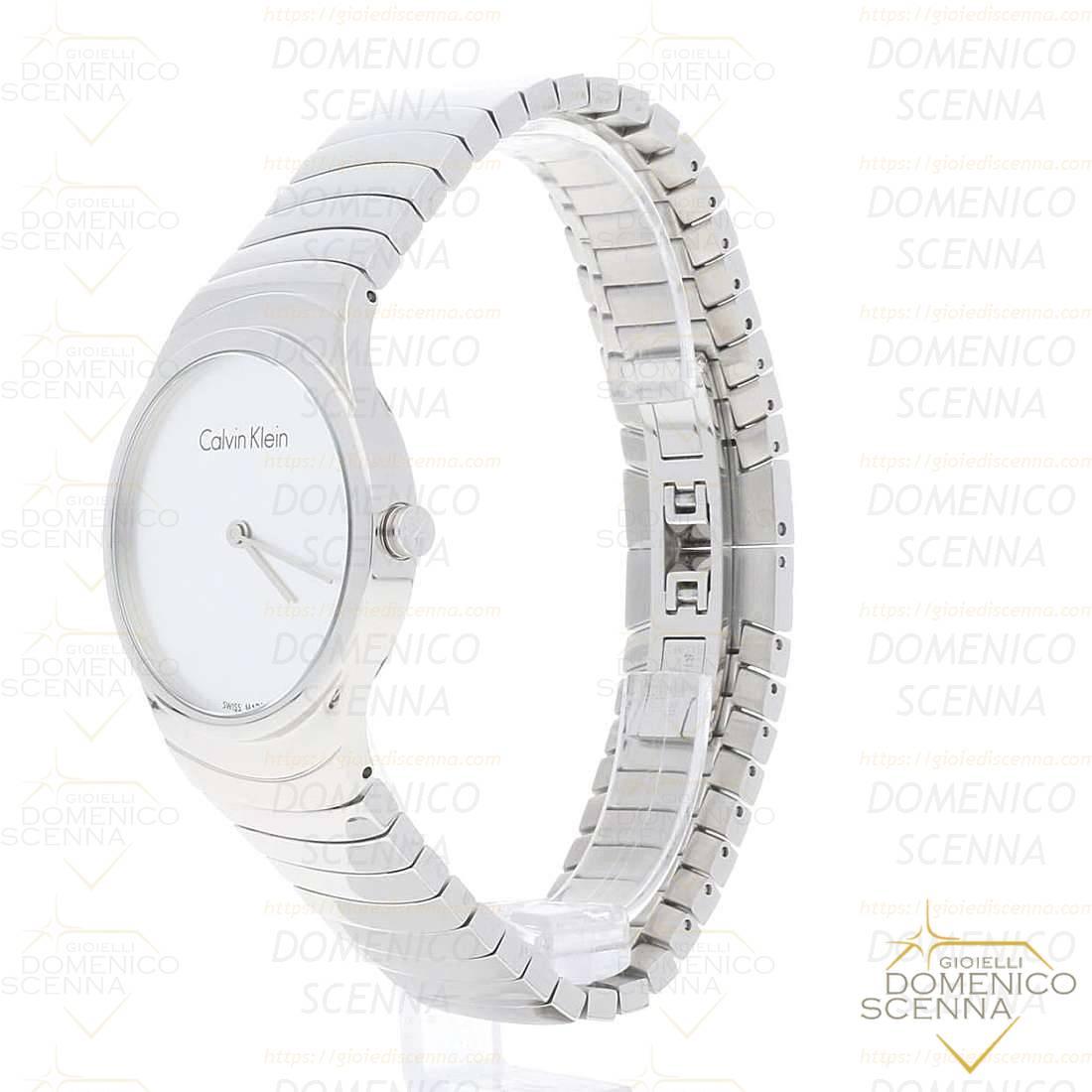 on sale 9df74 c1170 orologio solo tempo donna Calvin Klein Whirl, K8A23146