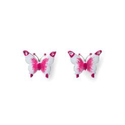 Orecchini Farfalla rodio Isola Bella