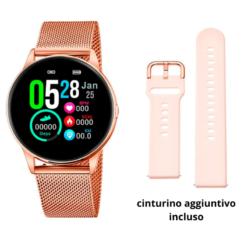 Orologio Lotus Smartwatch 50001/1 cassa è in acciaio con due cinturini intercambiabili disponibili nella scatola. Compatibile con iOs